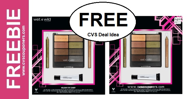 FREE Wet N Wild Gift Sets CVS deal 1110-1116
