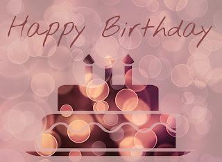 Grafika z okazji trzecich urodzin bloga