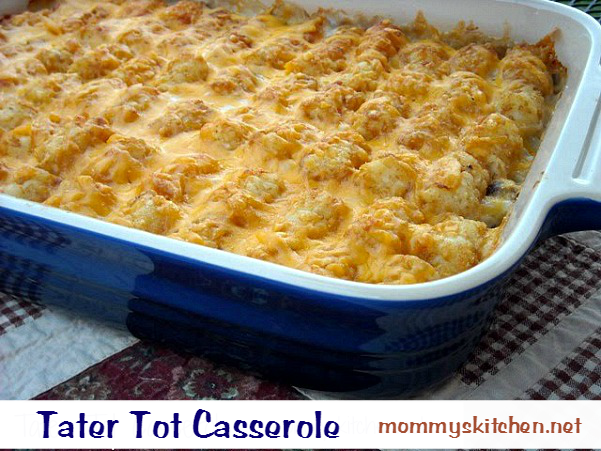 Foolproof Sour Cream and Onion Tater Tot Casserole. A fresh twist on an old family favorite that even the kids will gobble up. Out of desperation from having the same old dish week after week I set about creating a new flavor profile for my standby dinner-Tater Tot jestinebordersyz47zv.ga Time: 40 mins.