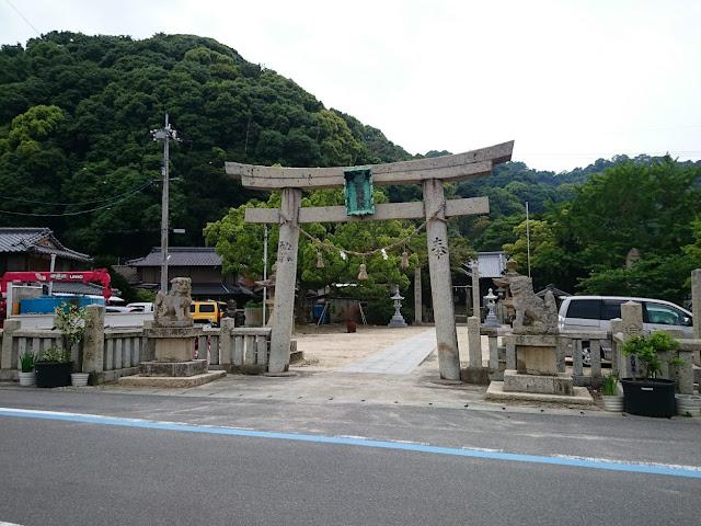 とびしま海道 岡村島 姫子島神社