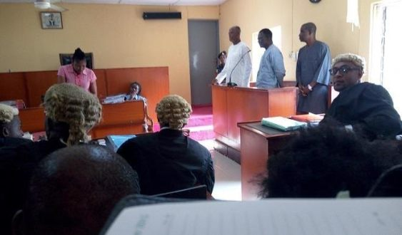 FUNAAB Vice Chancellor, Pro Chancellor, Bursar arraigned for fraud (photo)