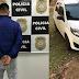 Polícia Civil recupera veículo roubado e prende homem em São Pedro do Butiá