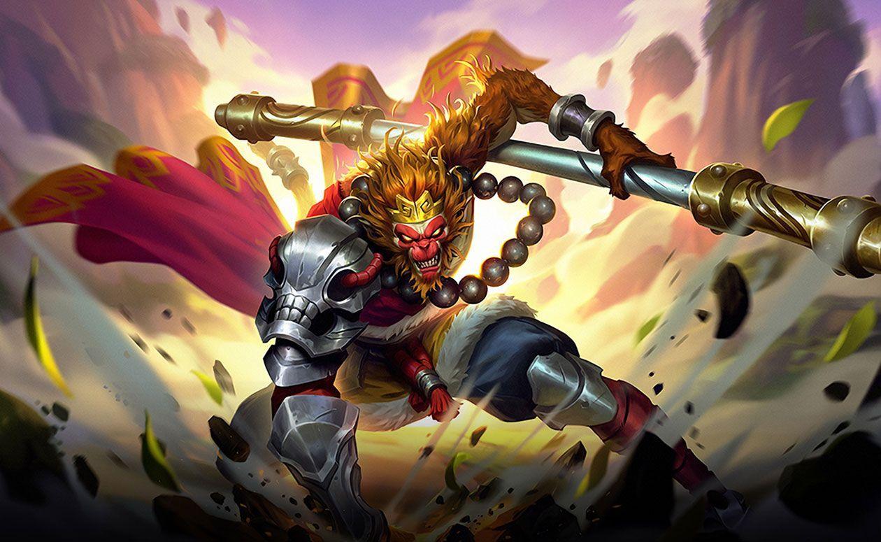 Wallpaper Sun Monkey King Skin Mobile Legends Full HD for PC
