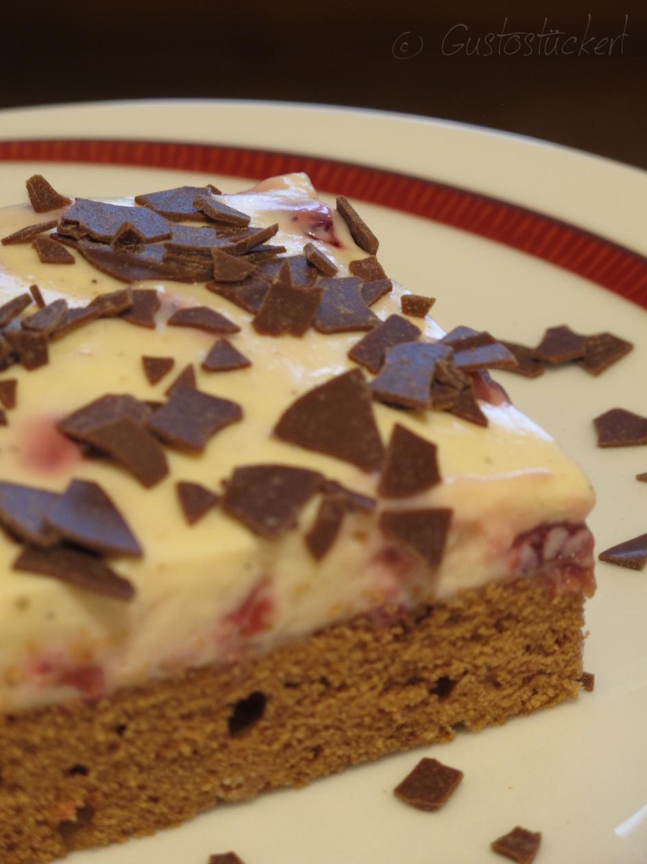 Gustostuckerl Mach Aus Der Not Eine Tugend Erdbeer Vanille Schnitten