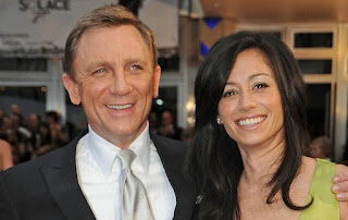 Fiona Loudon with her ex-husband Daniel Craig
