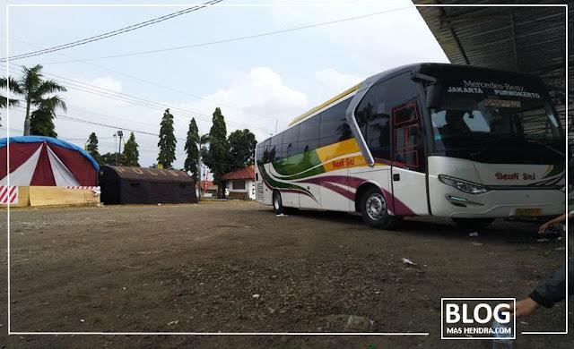 Mudik ke Tegal Naik Bus Dewi Sri - Blog Mas Hendra