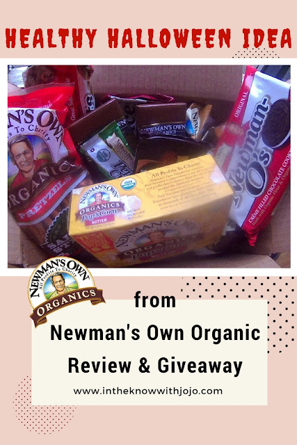 Newman's Own Organics wants to give one fan a chance to try their own product sampler box perfect for Halloween