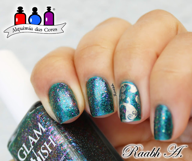 Novo Toque, Esmalte Perolado, Glam Polish, Glam Polish In Every Generation There Is a Chosen One, Glam Polish The Slayer Collection 2017, flocado mutichrome, esmalte holo, Nicole Diary 028, Raabh A. 2019,