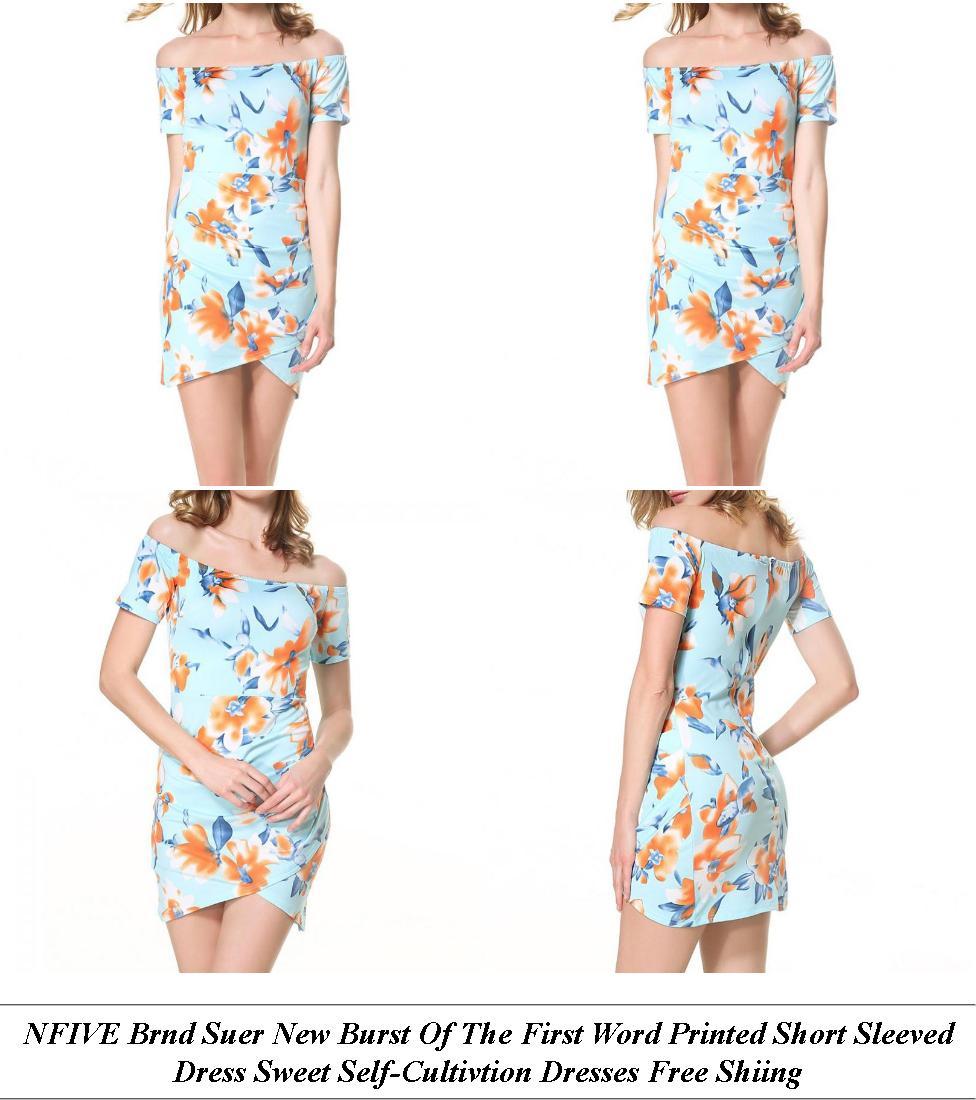 Prom Dresses - Womens Clothes Sale Uk - Velvet Dress - Cheap Clothes