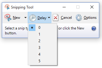 Snipping Tool Windows 10 Delay Screen - www.onecooltip.com