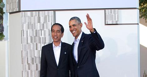 Isi Email Ucapan Selamat Hari Kemerdekaan RI 71 dari Presiden Obama Untuk Jokowi