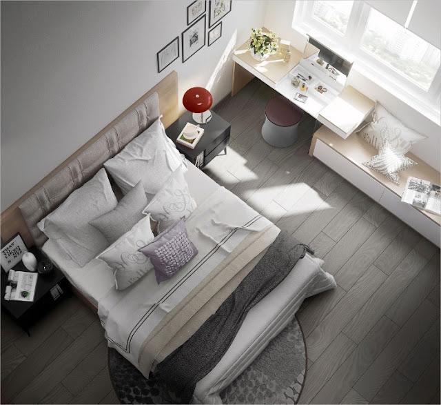แบบห้องนอน Minimalist