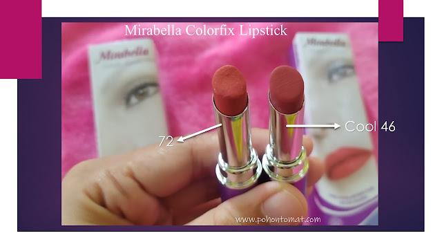 mirabella colorfix lipstick