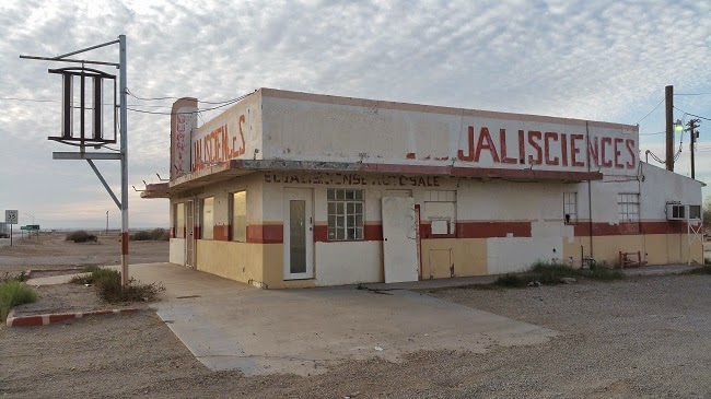 Abandoned Jalisciences Store near Salton Sea