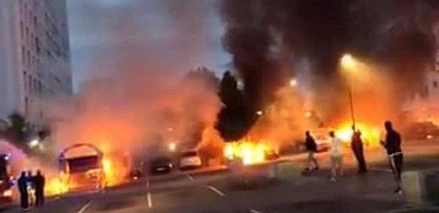 Η Σουηδία στις φλόγες από τα χέρια του Ισλάμ