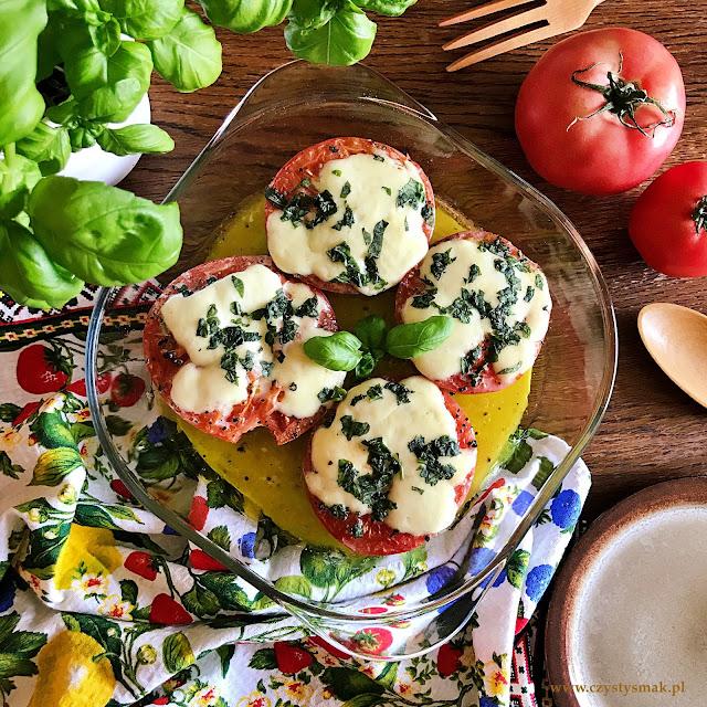 Pieczone pomidory po włosku