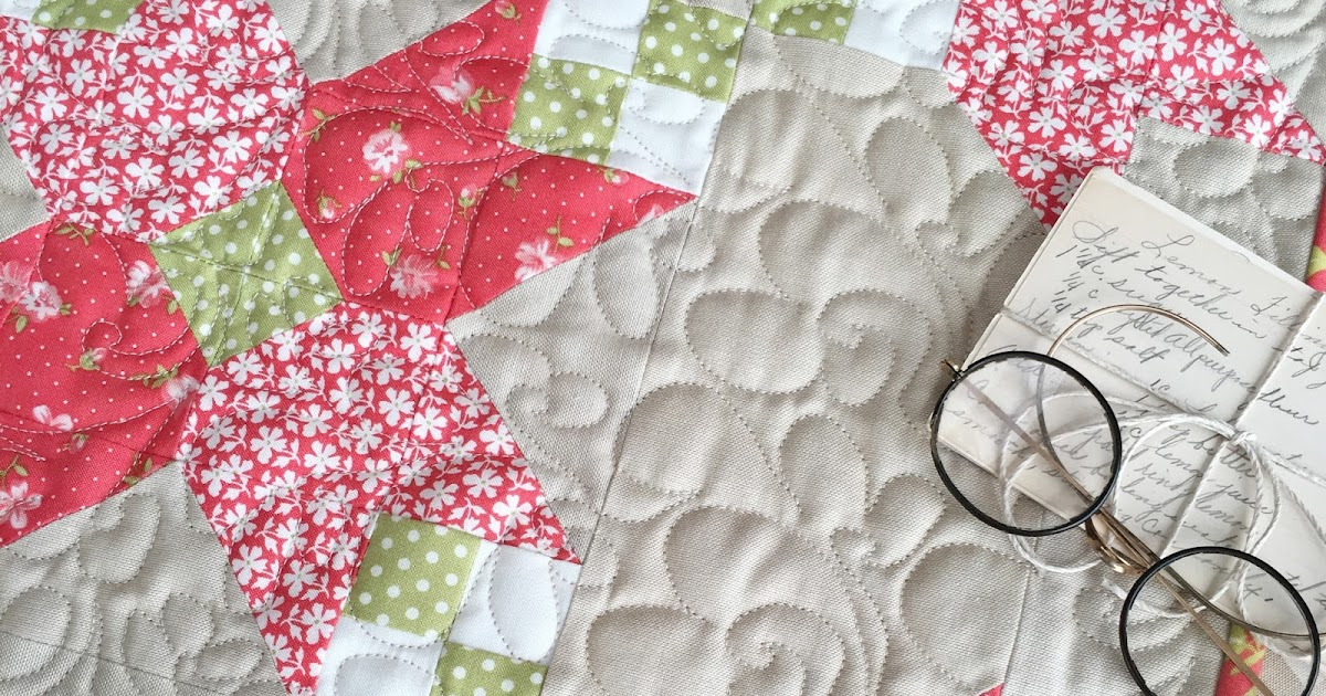Carried Away Quilting New Pattern Crossing Petals