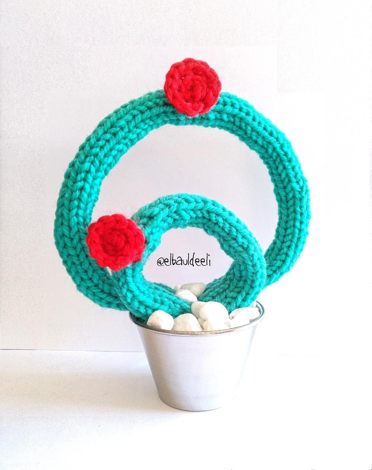 cactus, lana, handmade, tricotar, decoración, divertida