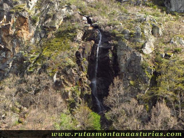 Cascada de agua en Sanabria