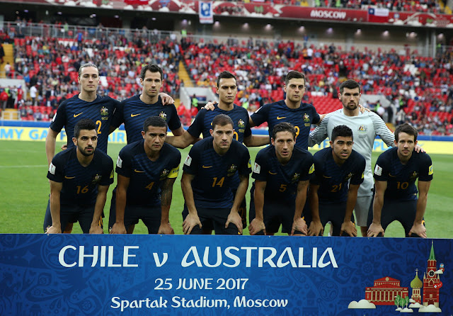 Formación de Australia ante Chile, Copa Confederaciones 2017, 25 de junio