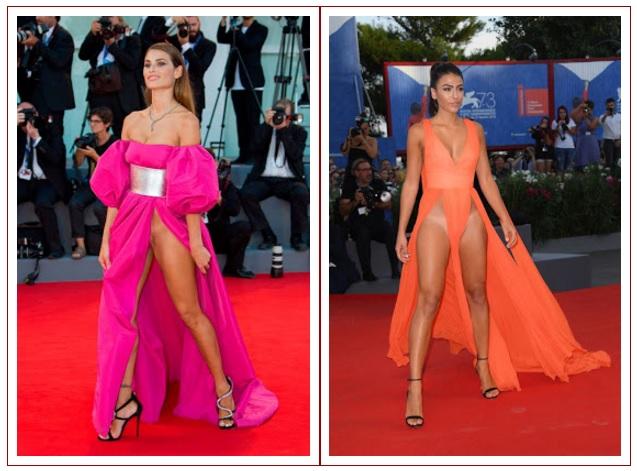 Italian models Giulia Salemi and Dayane Mello stun