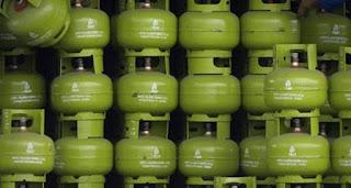 Ampun, Harga LPG 3 kg di Dompu 80 Ribu