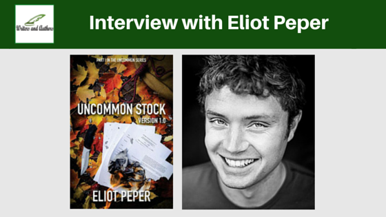 Interview with Eliot Peper @eliotpeper @Writers_Authors