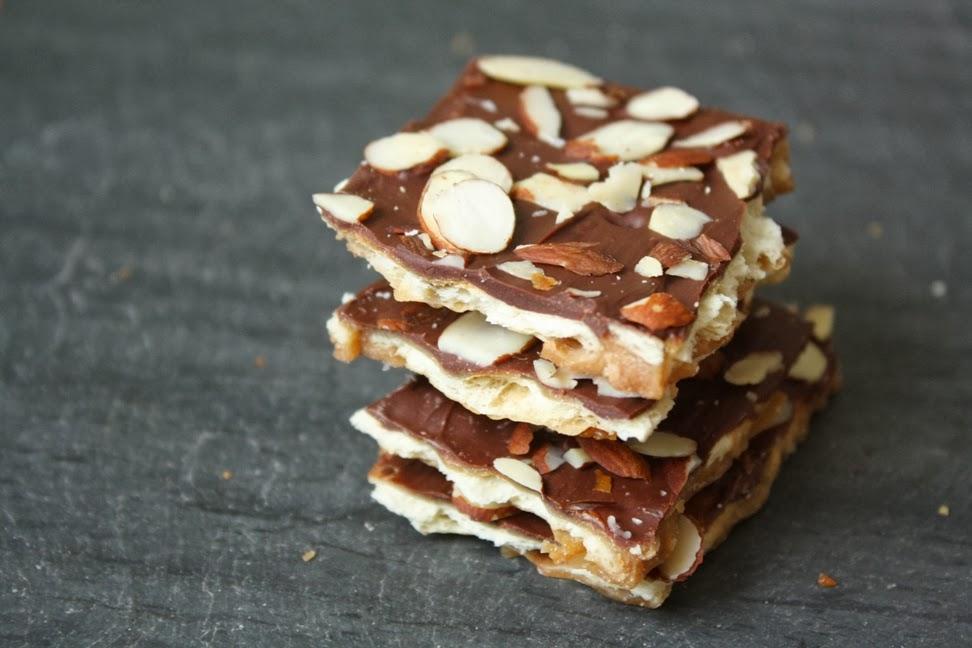 Saltine Cracker Toffee Bark