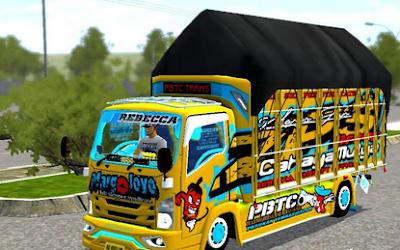 Mod Truck Isuzu Nmr 71 Margo Joyo