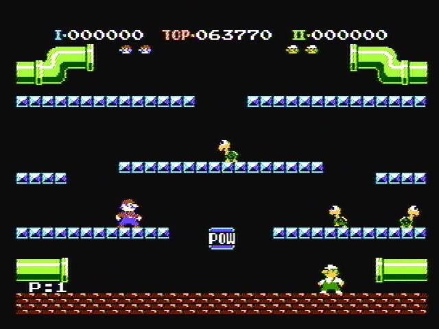 1983. Mario Bros. Arcane
