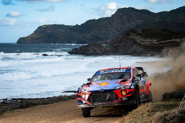 Hyundai WRC car