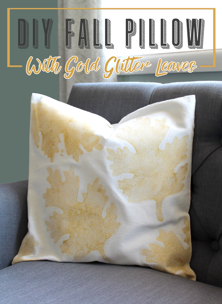 The Craft Patch Fall Leaves DIY Throw Pillow