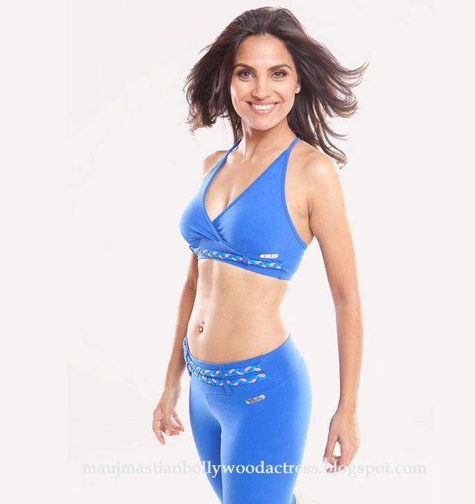 Lara dutta bikini blue