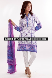 Zeen Mid Summer Lawn Collection 2015
