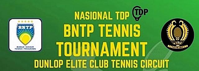 BNTP - Dunlop Elite Club Tennis Circuit Pekan Kedua: Hasil Akhir Tunggal Putra