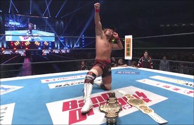 Tetsuya Naito Wins Double Gold At WrestleKingdom 14