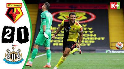 Video Watford 2-1 Newcastle United: Vòng 35, Ngoại Hạng Anh