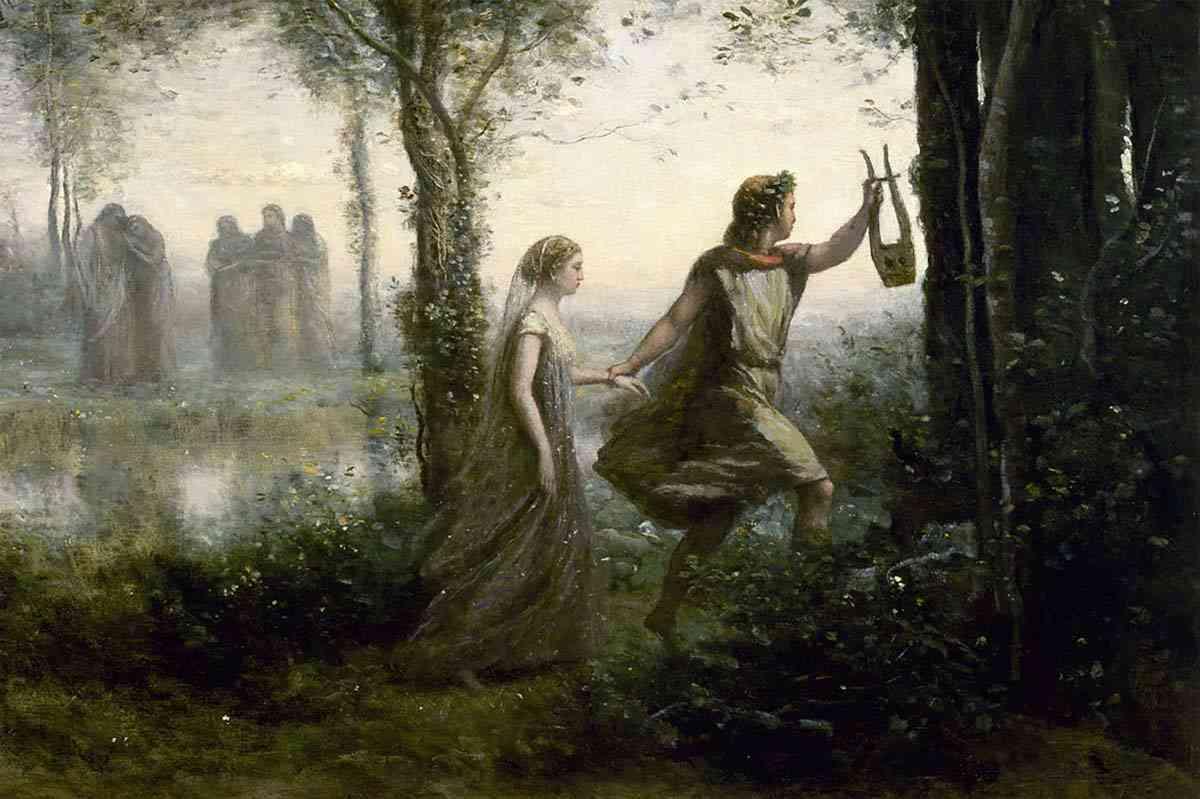 A Mítica História de Amor de Orfeu e Eurídice