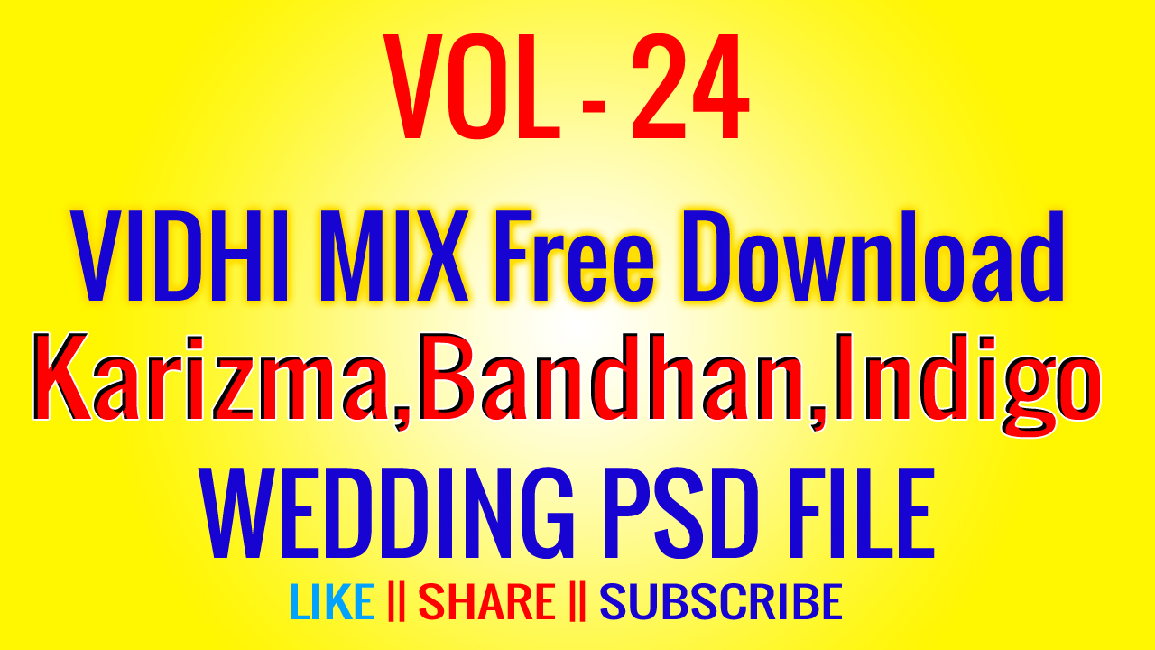 Vol 24 Free 12 X 36 Vidhi Psd Download Bc Creation The