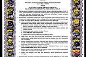 Polda Aceh Sampaikan Maklumat Kapolri Untuk Antisipasi Corona