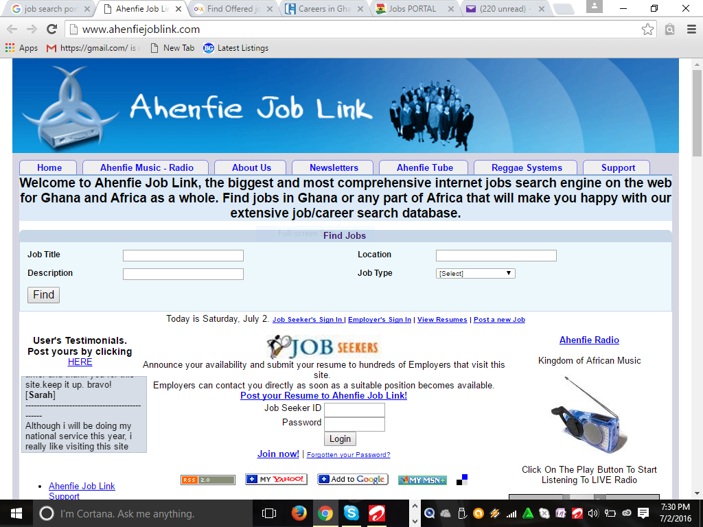 job search websites every unemployed graduate in should this site is arguably next to tornaton com in popularity as far as classified websites in are concerned job vacancies are regularly posted on