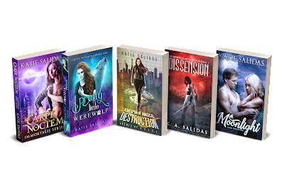 Supernatural and Urban Fantasy Books