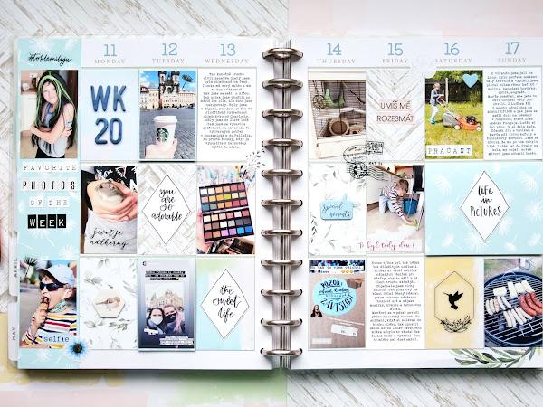 HAPPY PLANNER - 20. týden | WEEK 20