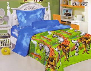Sprei Kintakun Luxury Kids Safari
