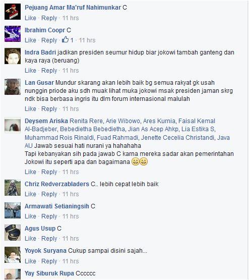 SURVEI INI TERNYATA Mayoritas Rakyat Indonesia Inginkan Presiden Jokowi Berhenti Sampai Disini