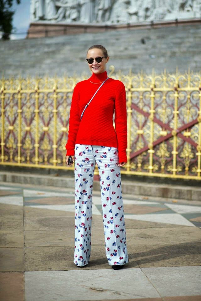 Street Style | When's the Last Time You Wore Something Red