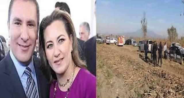 Tras caer helicoptero muere Rafael Moreno Valle y su esposa la gobernadora de Puebla Martha Erika