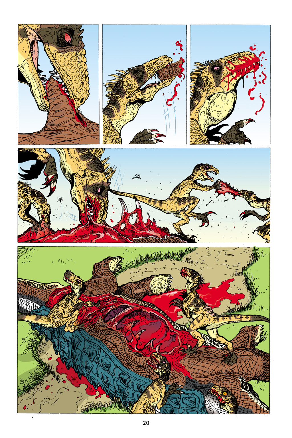 Age of Reptiles Omnibus Chap 1 - Next Chap 2