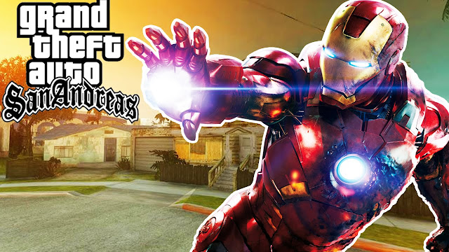 GTA Sanandreas Iron man Mod Free Download for Pc - Latest