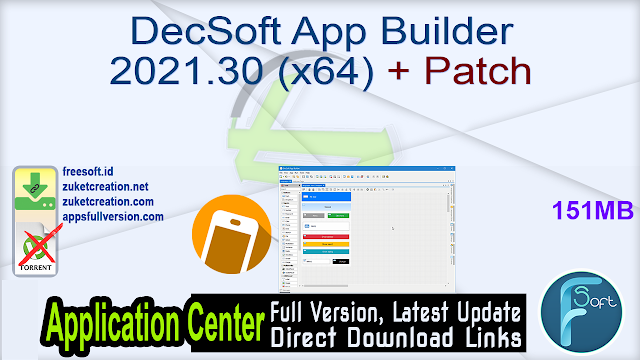DecSoft App Builder 2021.30 (x64) + Patch